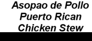 Picture of Asopao de Pollo - Puerto Rican Chicken Stew