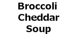 Picture of Broccoli Cheddar Soup - Vegetarian