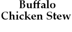 Picture of Buffalo Chicken Stew