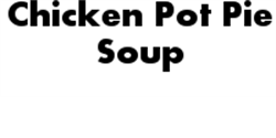 Picture of Chicken Pot Pie Soup