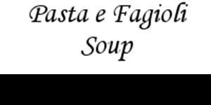 Picture of Pasta e Fagioli Soup- Vegetarian