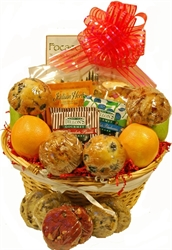 Picture of Holiday Greetings Gift Basket