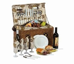 Picture of Woodstock 4 Person Picnic Basket