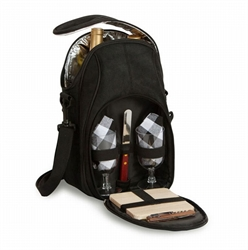 Picture of Brava Insulated Wine & Cheese Backpack