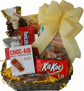 Picture of Choco-Aid for Boo-Boos Gift Basket