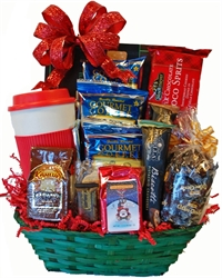 Picture of Christmas Coffee Lover Gift Basket