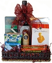 Picture of Wine & Cheese Tray Gift Basket