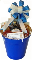 Picture of Get Well Gift Basket  for a Guy