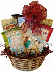 Picture of Snack Time with Toys Gift Basket