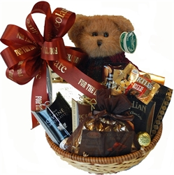 A one of a kind gift albany ny gift baskets candy chocolate gifts beary chocolaty gift basket negle Image collections