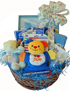 Picture of Baby Basics Gift Basket