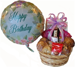 Picture of Birthday Balloon & Basket
