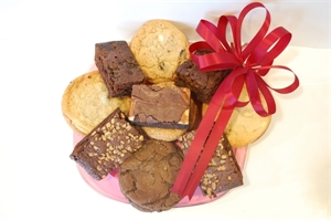 Picture of Homemade Cookie & Brownie Plate