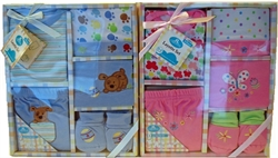 Picture of 5 piece Boxed Baby Layette Set