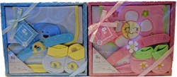 Picture of 4 piece Boxed Baby Layette Set