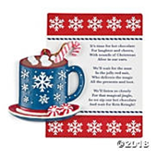 Picture of Hot Chocolate Christmas Ornament
