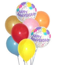 Picture of Happy Anniversary Balloon Bouquet