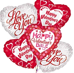 Picture of Valentine Balloon Bouquets