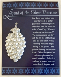 Picture of Silver Pinecone Ornament