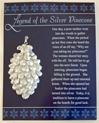 Picture of Silver Pinecone Ornament