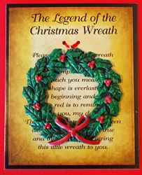 Picture of Christmas Wreath Ornament
