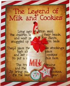 Picture of Milk & Cookies Ornament