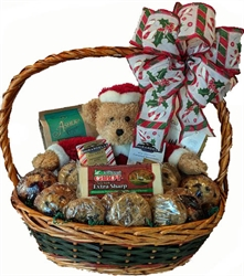 Picture of Beary Christmas Gift Basket